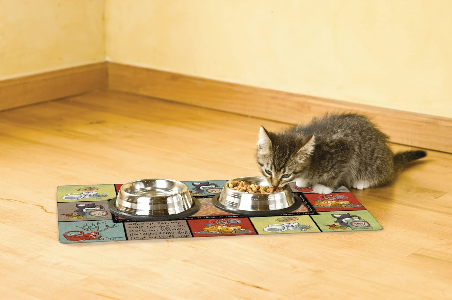 10 Best Cat Food Mats